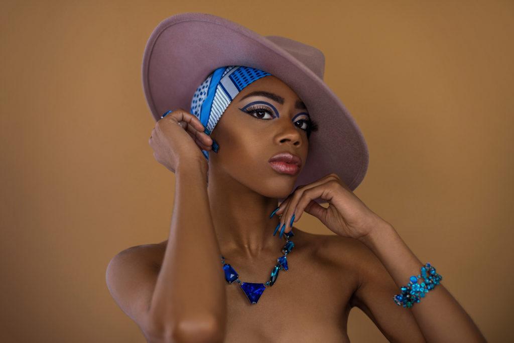 Beautiful Black Gypsy Queen