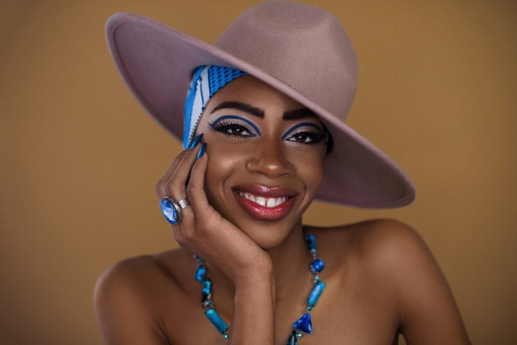 Smiling Black Gypsy Queen