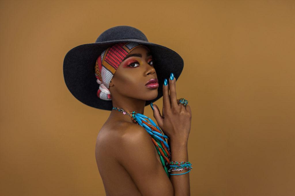 Fierce Black Gypsy Queen