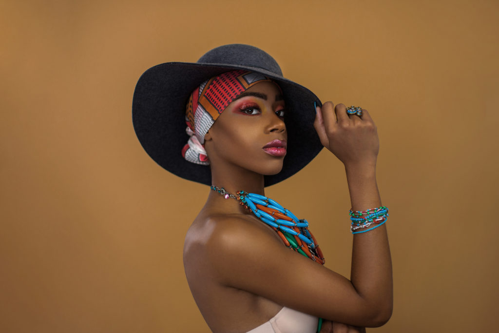 Sophisticated Black Gypsy Queen