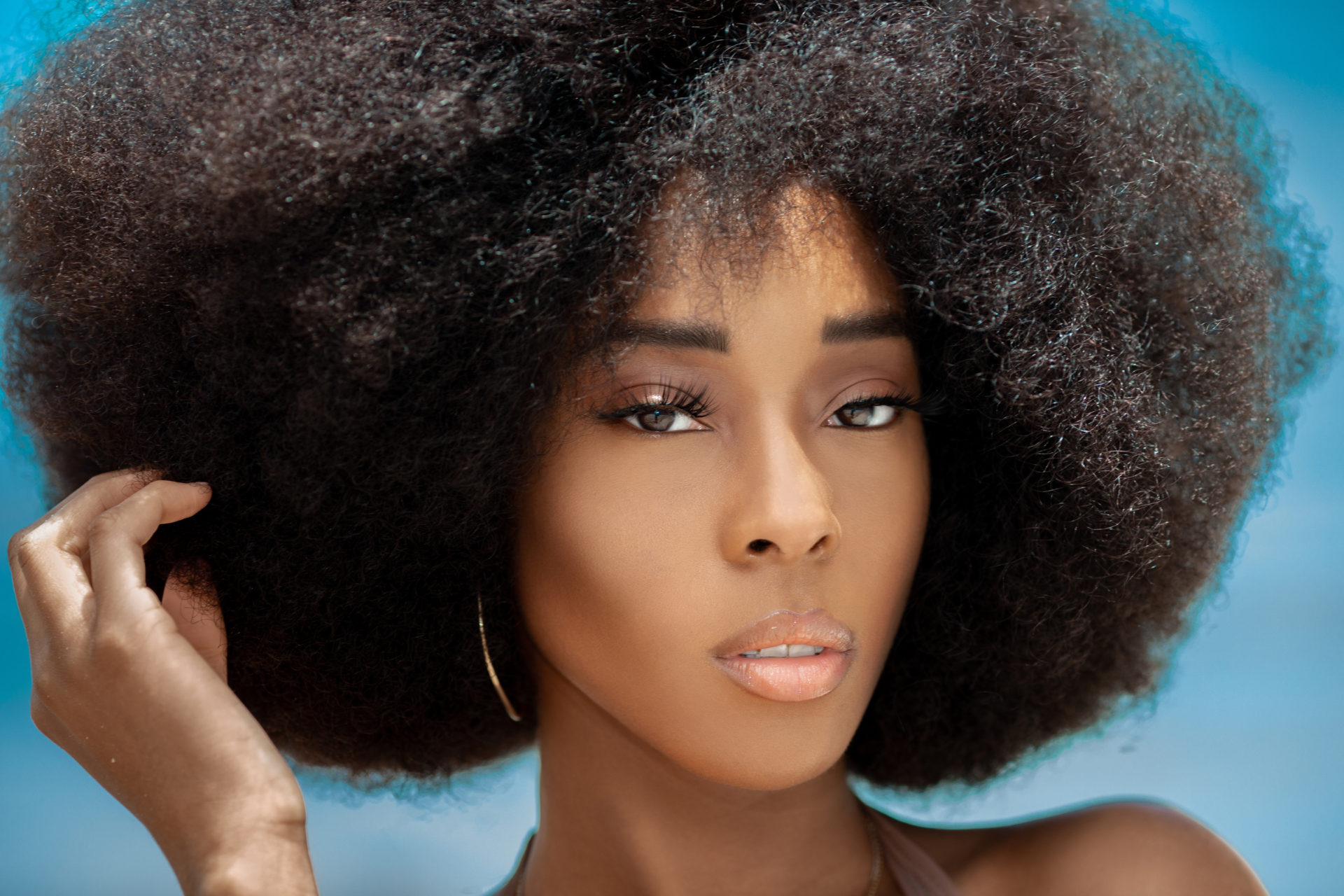 Chocolate, Sugar & Water: Attractive Afro Queen