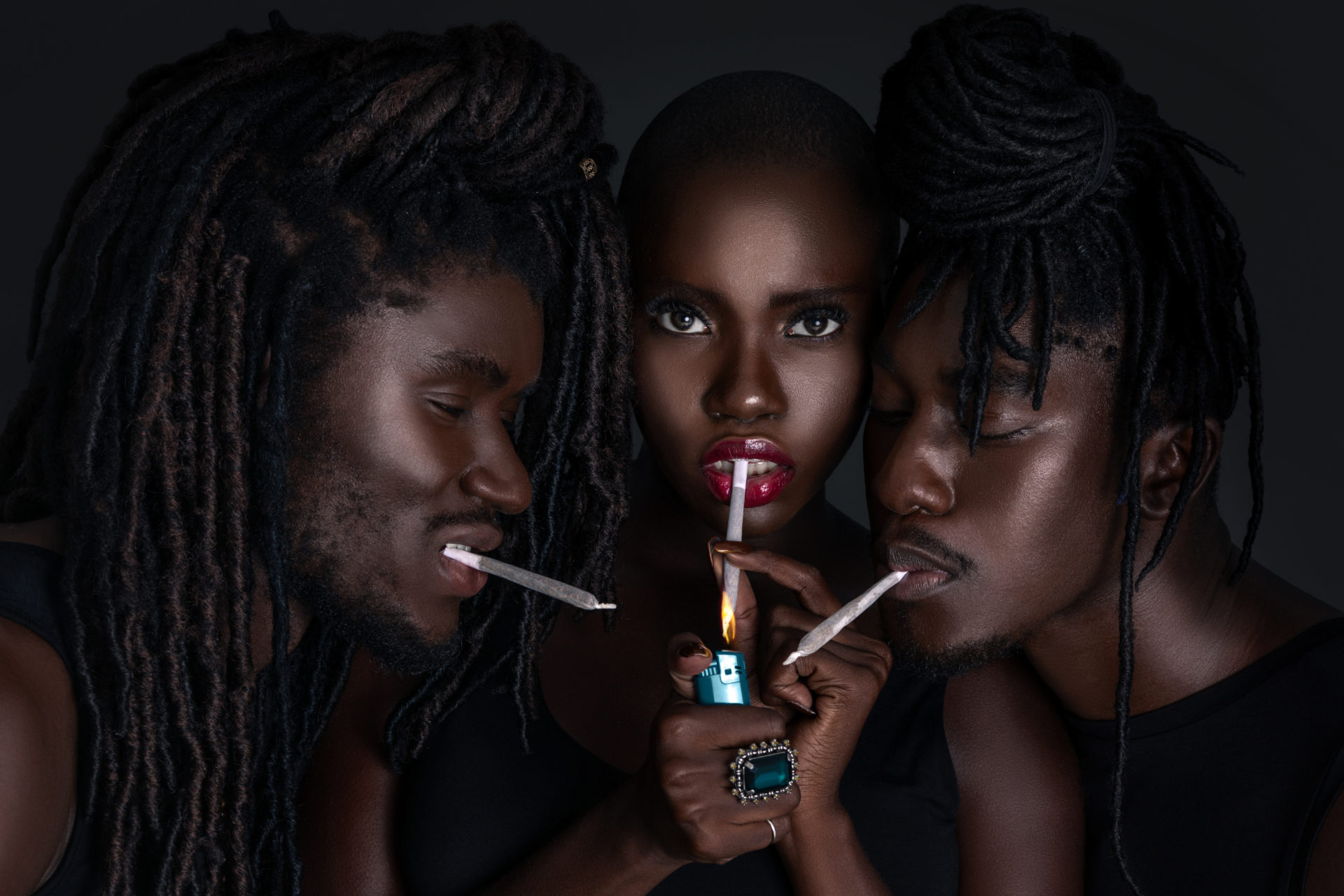 Black Friends Light It Up